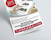 Diseño de folleto promocional para TuInmueble.com