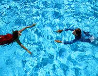 Wedding Card Under Water