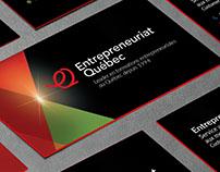 Entrepreneuriat Québec - Branding et site Web