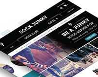 Sock Junky - Website Design