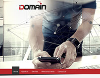 IT Domain Website
