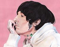 Acryl Gouache Illustrations