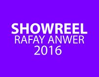 Showreel 2016- Rafay Anwer Creative Lead