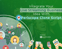 Integrate Your Live Streaming Business Idea With Perisc
