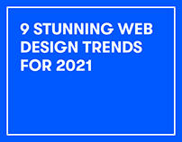 9 stunning web design trends for 2021