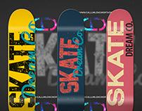 SKATE Dream Co. - Custom Skate Decks