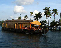 A Houseboat Journey Through Kerala Backwaters