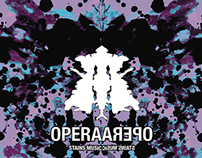 Opera CD cover with Rorschach theme