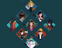 Final Fantasy VII Design Series Compliation