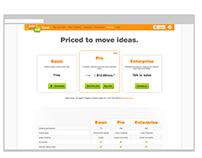 join.me website design, illustration and UX