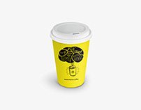 Paper Cup - Meron Coffee // 8oz