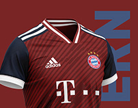 Bayern München football kit 19/20.