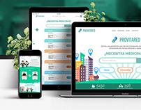Provitared - Website Design