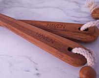 HAVEN Teak Brushes