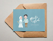 Wedding invitation (Iqbal and Meiti)