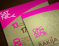 rakija fest accreditation cards
