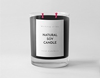 Soy Candle Label design