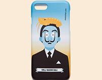 Cell-Vador Dali iPhone Case