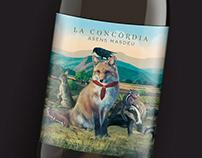La Concordia y La Discordia - Wine