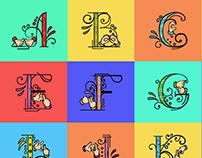 36 Days Of Type (Indian Sign Language)