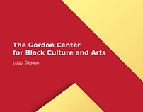 Gordon Center Logo Design