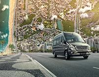Mercedes-Benz | Roads - Sprinter 20 Years
