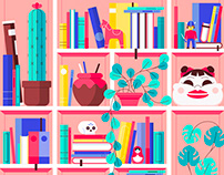 Iconography & Illustration Works - 2018