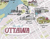 Harry Rosen Ottawa Map