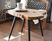 BIG STILL WOOD Coffee Table