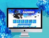 Tiki - Gaming TikiNow Landing page