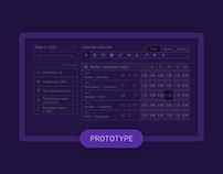 Interactive Prototype for Stavka24 web service