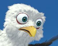 Gull cartoon