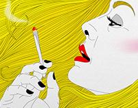 Smoking Hair