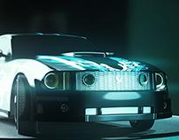 Mustang Marmoset Render