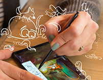 Samsung Galaxy Note 8   Artist Review