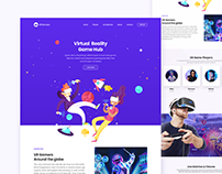 VR'Gamers - Adobe XD Template