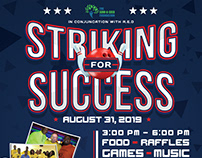 Striking For Success Charity Flyer [Design]