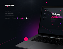 Aqumon / website concept