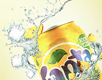 Fanta Pineapple Visual