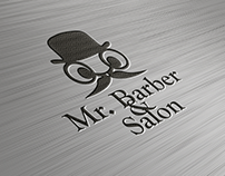 LOGO | Mr. Barber & Salon