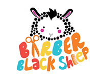 Barber Blacksheep | Brand Design