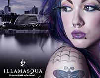 Fotomontaje Perfume Freak de Illamasqua