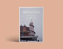 Travel Log (Brighton) | Zine Design