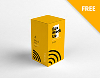 Box mockup(Free)