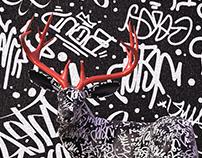 /ˈɜːbən/ /dɪə/ - urban deer
