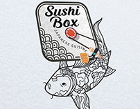 Graphiste logo Food Truck Sushi loolye Labat