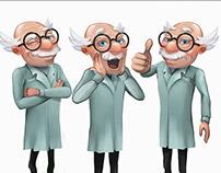 Doctor Bingo character redesign