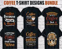 Coffee T Shirt Design Bundle