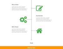 House Landing Page Template