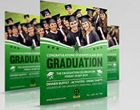 Graduation Flyer Template